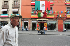México - cidade - arquitetura da cidade Foto de Stock Royalty Free