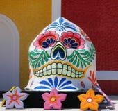 México, muertos del cráneo muerto imagenes de archivo