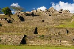 Ruínas do Maya de Tonina em México imagem de stock royalty free