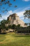 México, Palenque, pirâmide maia, Fotografia de Stock