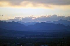 Même au-dessus de Denver du sud Image libre de droits