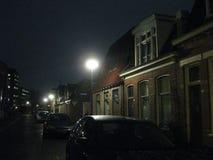 Même des rues à Groningue, les Pays-Bas image stock