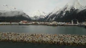 Même la marée en Alaska banque de vidéos