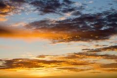 Même le coucher du soleil dans Devin image stock
