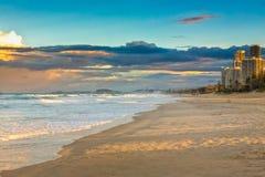 Même ondule chez la Gold Coast Photo libre de droits