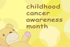Mês da conscientização do câncer da infância Fotos de Stock