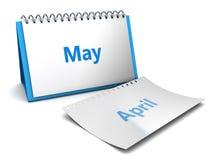 Mês de maio Imagens de Stock