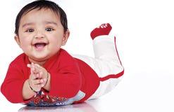 Mês do infante 6-8 Imagens de Stock Royalty Free