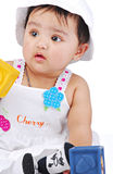 Mês do infante 6-8 Imagens de Stock