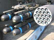 Mísseis - armas da destruição em massa (wmd) Imagens de Stock