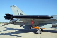 Míssil do falcão F-16 Imagens de Stock