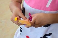 Móżdżkowy szkolenie rozwijać mózg I use palce Zdjęcie Royalty Free