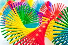 Móbil de bambu colorido Imagens de Stock Royalty Free