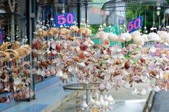 Móbil feito dos vários shell Fotos de Stock Royalty Free