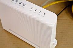 Módem del ADSL Imagen de archivo libre de regalías