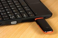 Módem del USB Foto de archivo