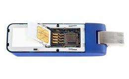 Módem del USB Fotografía de archivo