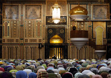 módl się muslims Zdjęcia Stock