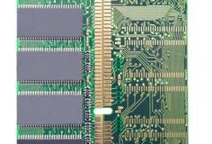 Módulo da memória da RDA RAM Foto de Stock