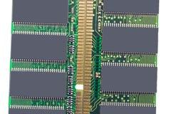 Módulo da memória da RDA RAM Imagem de Stock