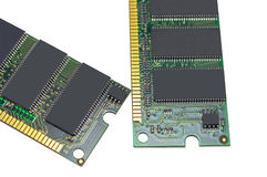 Módulo da memória da RDA RAM Fotos de Stock