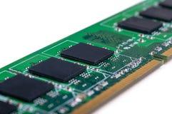 Módulo da memória do PC Fotografia de Stock