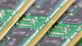 Módulo de la memoria de computadora DDR4 (RAM) almacen de video