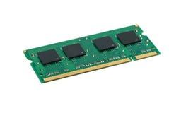 Módulo de la memoria de SO-DIMM Fotografía de archivo libre de regalías