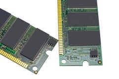 Módulo de la memoria ram de RDA fotos de archivo