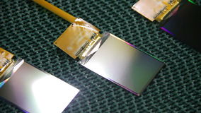 Módulo del LCD del teléfono móvil almacen de video