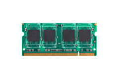 Módulo do RAM de SODIM Imagem de Stock
