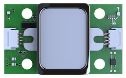 Módulo do sensor da impressão digital Imagens de Stock Royalty Free