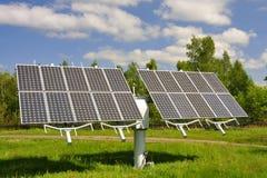 Módulo solar imagens de stock royalty free