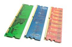 Módulos da memória imagem de stock