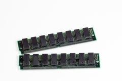 Módulos de la memoria de computadora Imagen de archivo libre de regalías