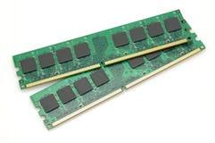 Módulos de la memoria de computadora imagen de archivo