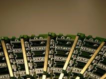 Módulos de la memoria de computadora IV Foto de archivo libre de regalías