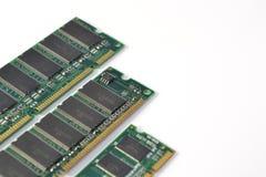 Módulos de la RAM del ordenador imágenes de archivo libres de regalías