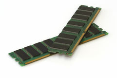 Módulos del RAM Imagen de archivo