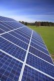 Módulos Photovoltaic Fotografia de Stock Royalty Free