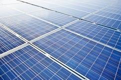 Módulos solares do picovolt Imagem de Stock