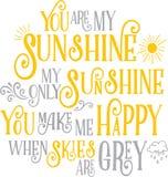 Mój światło słoneczne Zdjęcie Stock