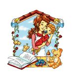 mój adorujący dziecko ilustracja wektor