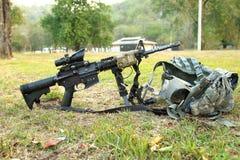 Mój broń zdjęcie stock