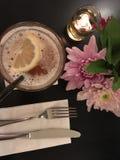 Mój cytryny herbata zdjęcie royalty free