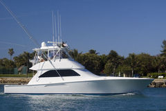 mój daleko yacht Zdjęcia Royalty Free