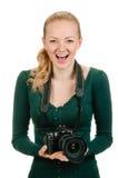 Mój kamera Zdjęcia Stock