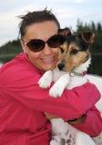 mój śliczny psi przyjaciel Zdjęcie Royalty Free