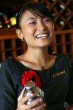 mój lokaj barmana ulubiony kelner obrazy royalty free
