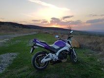 Mój motocykl fotografia stock